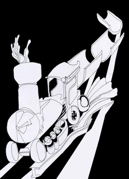 il treno disegno giovanni merloni taille réduite