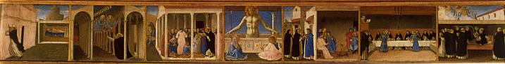 Angelico-Couronnement_Vierge prédelle