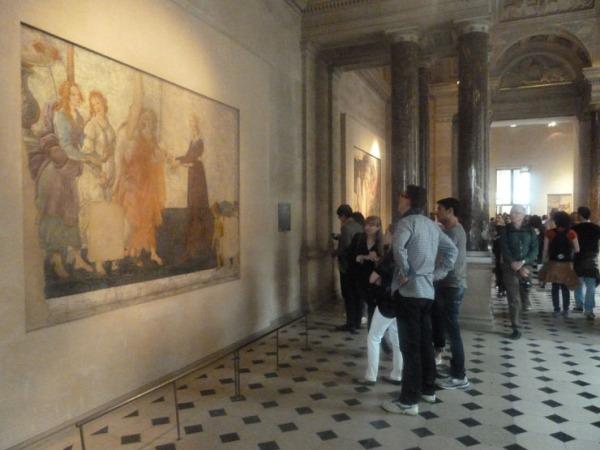 botticelli fresque louvre 1 740