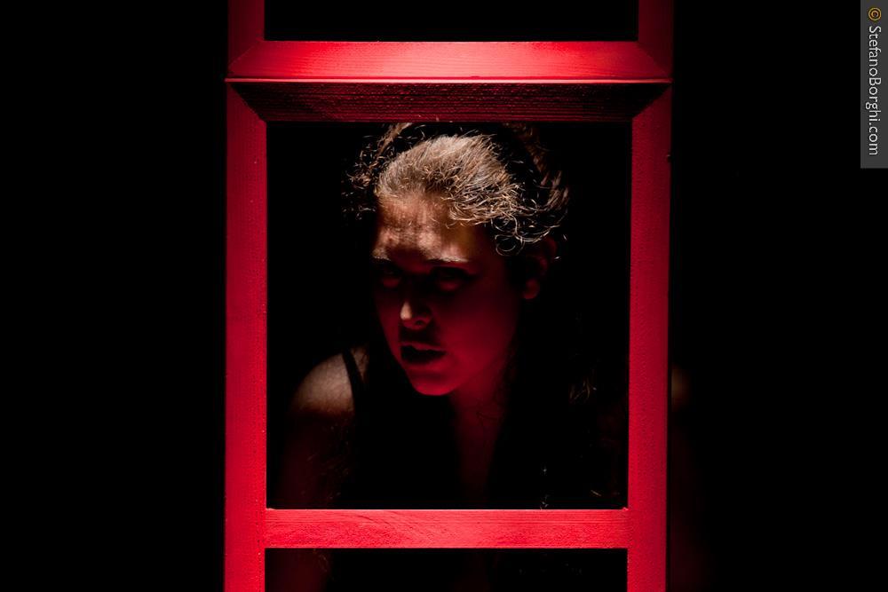 Gabriella Merloni-Une femme seule Dario Fo-sur les planches 12