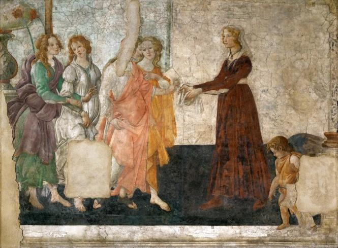 Sandro Botticelli affresco 1  180 jpg